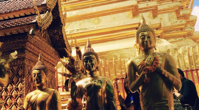 Learning taiji, fajin, hermetics and metaphysics in Chiang Mai.