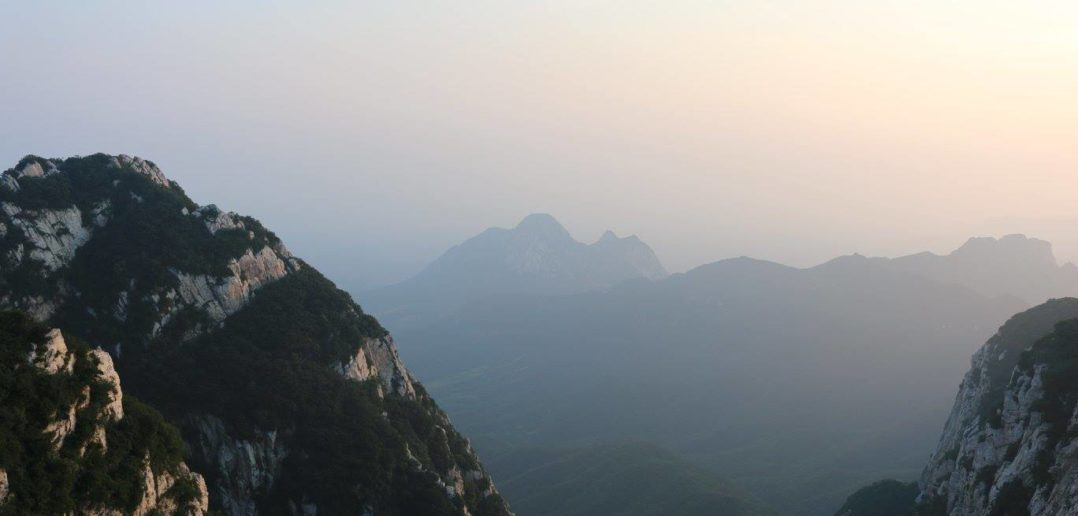 The infamous mountain run at Songshan Shaolin Temple