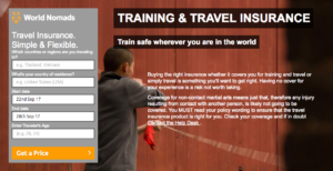 Kung fu travel insurance