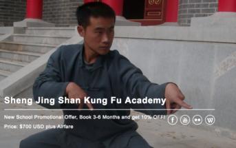 Learning Kung Fu with Master Qu on Shengjing Shan
