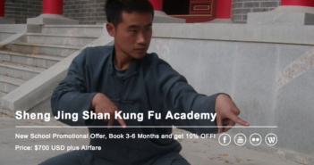 Learning Kung Fu with Master Qu on Shengjing Shan